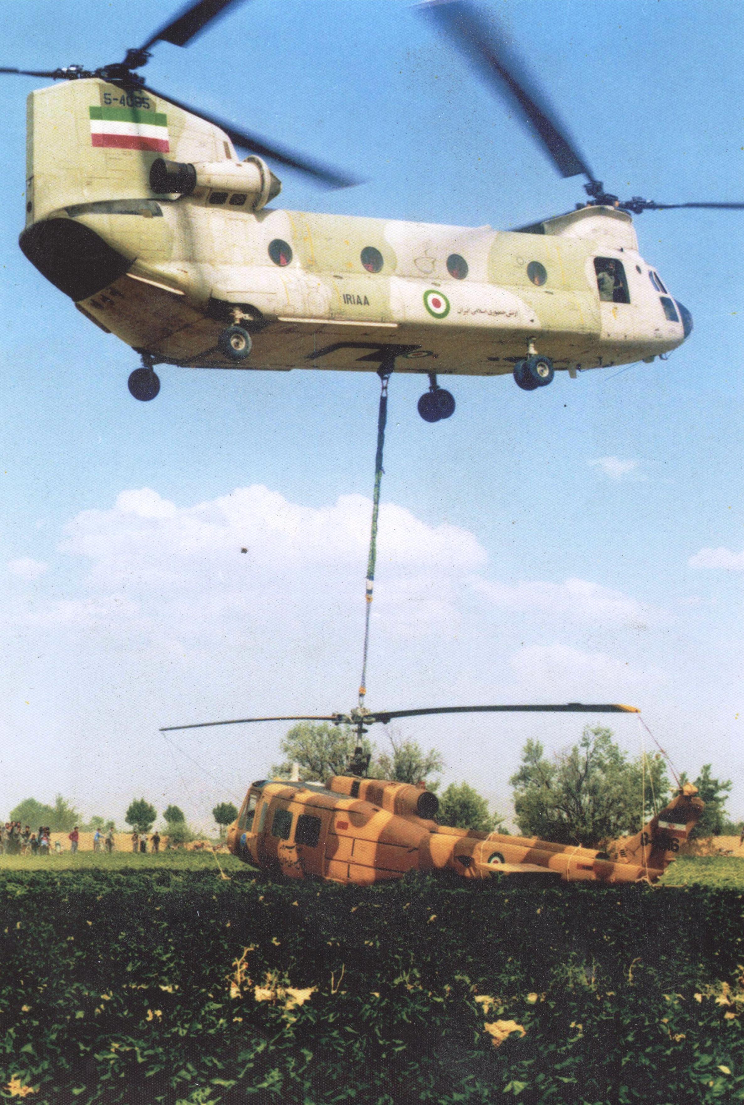 نقش هوانیروز در 5 عملیات بزرگ دفاع مقدس