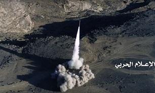 یمن| شلیک سه موشک زلزال به مواضع دشمن/ سرنگونی پهپاد پیشرفته متجاوزان