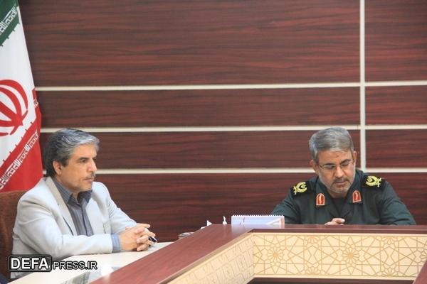 دیدار مدیر سازمان تعاون روستایی یزد با مدیر کل حفظ آثار یزد