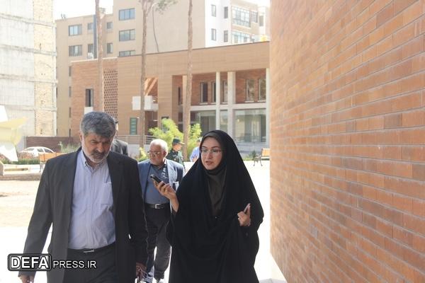 موزه دفاع مقدس یزد پتانسیل ملحق شدن به فضای شهری را دارد