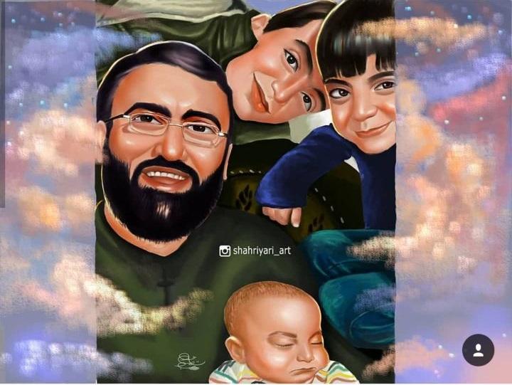 رضایت مادر «متوسلیان» از یک نقاشی/ انگیزههایی که باعث نقاشی از شهدای مدافعان حرم شد