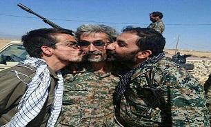 شوخی 2 شهید مدافع حرم در وسط معرکه جنگ