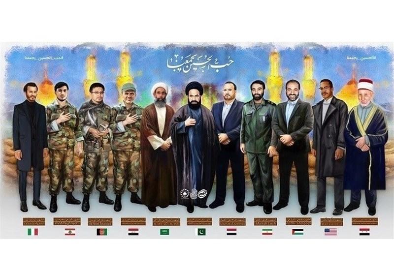 انتشار پوسترموشن ۱۱ تن از شهدای جهان اسلام
