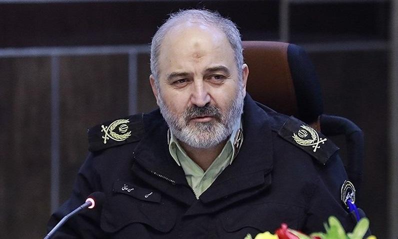 سردار حسنخانی: امنیت در مناطق سیلزده برقرار است