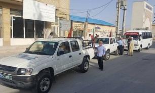 اعزام دومین «گروههای جهادی» شهرستان دیر به مناطق سیل زده