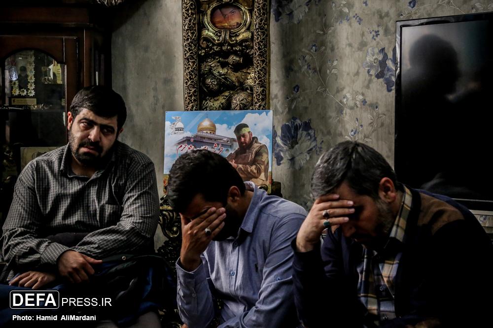 پیکر مطهر شهید مجید قربانخانی تفحص شد