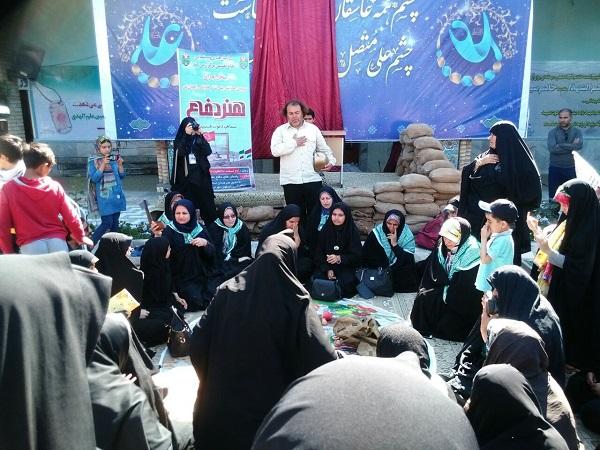 «هفت سین» اشک زائران را جاری کرد/ مسوولین تئاتر دفاع مقدس را حمایت کنند