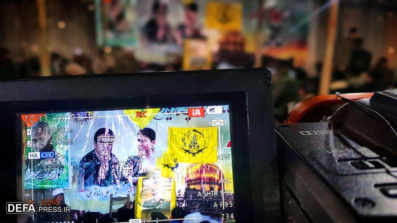 برگزاری مراسم چهلمین روز شهادت حاج قاسم سلیمانی در سوریه
