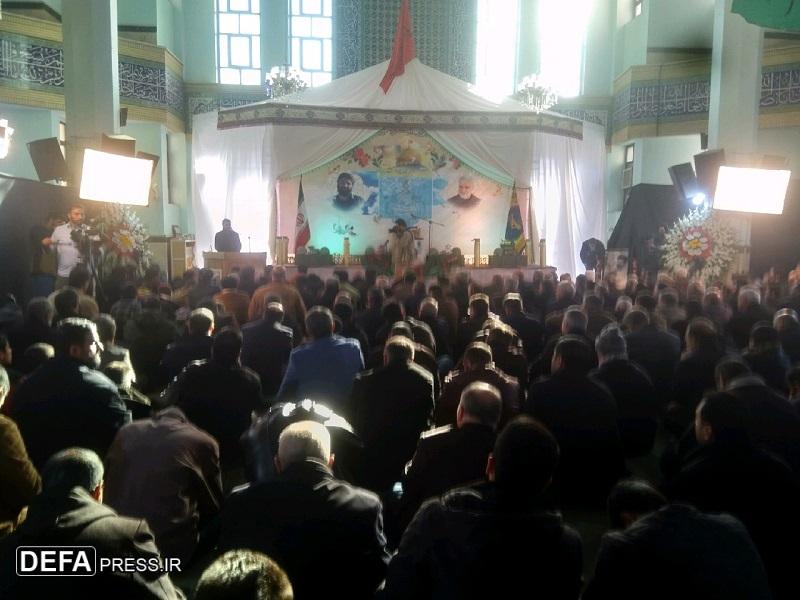 مراسم بزرگداشت شهید مدافع حرم «اصغر پاشاپور» برگزار شد