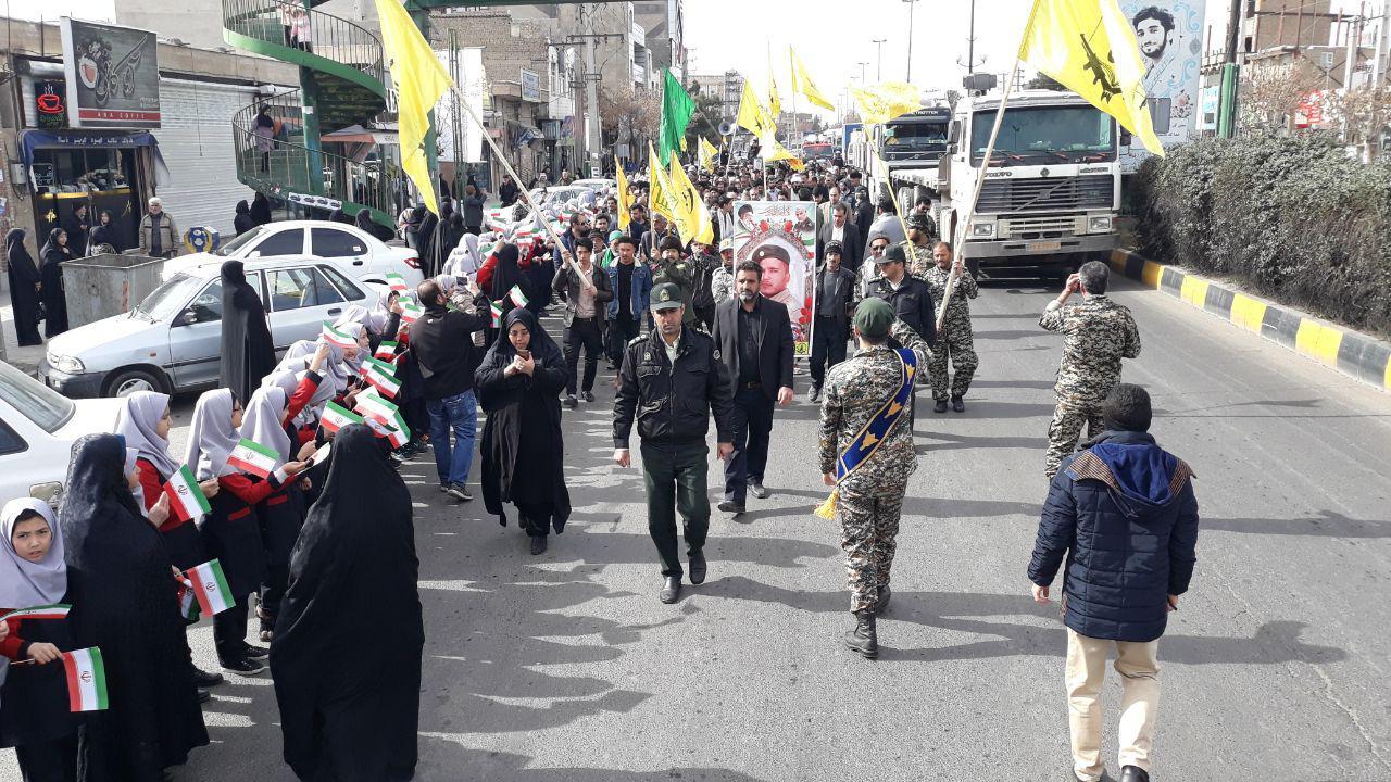 پیکر شهید مدافع حرم در تهران تشییع شد