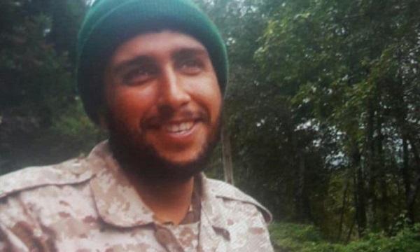 رزمنده مدافع حرم حمیدرضا بابل خانی در سوریه به شهادت رسید