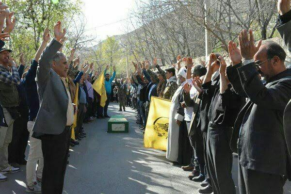 پیکر شهید فاطمیون در سالروز شهادتش به خاک سپرده شد+ تصاویر