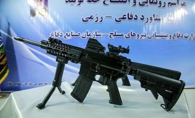 تکاوران نوهد به سلاح انفرادی «مصاف» مجهز میشوند