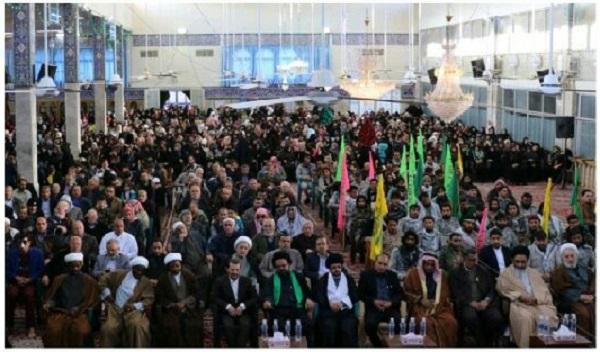 جشن نیمه شعبان با حضور رزمندگان مقاومت در سوریه+ تصاویر