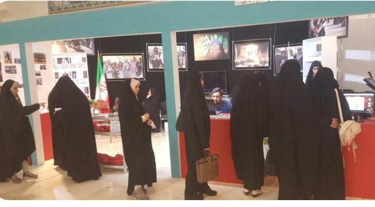 برپایی غرفه نائب الشهید در نمایشگاه بین المللی قرآن