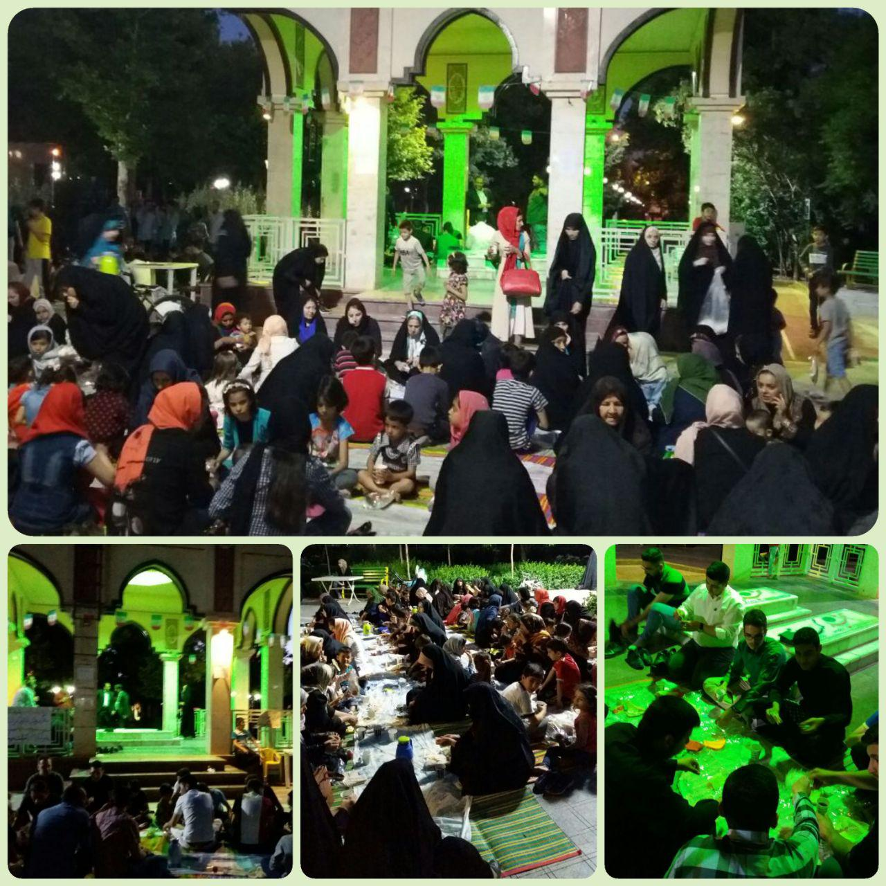 پنجشنبههای رمضان میهمان شهدا باشید + تصاویر