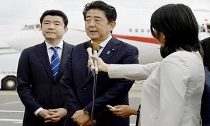 «آبه» پیش از ترک ژاپن به مقصد تهران: ژاپن در حد امکان برای حل تنشهای خاورمیانه تلاش میکند