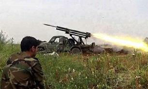 نبرد شدید میان ارتش سوریه و تروریستها در دو جبهه تل ملح و الجبین