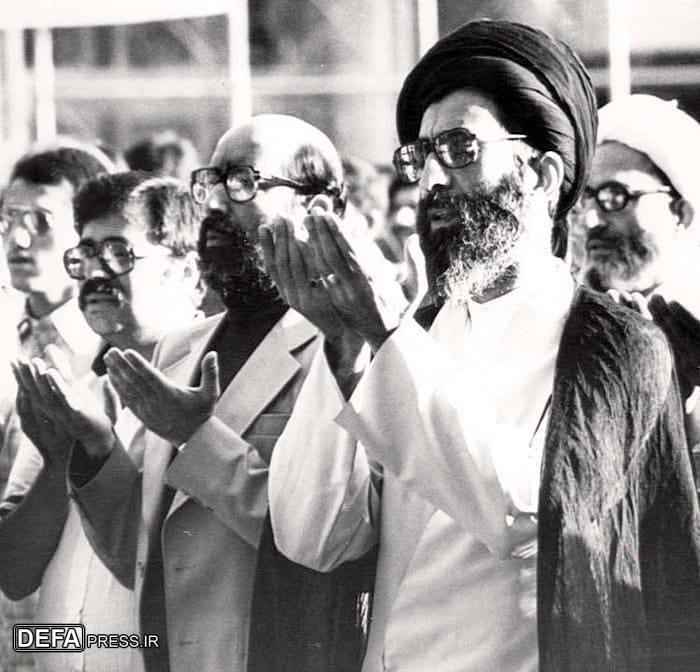 طرح/ شهید چمران در کنار رهبر معظم انقلاب