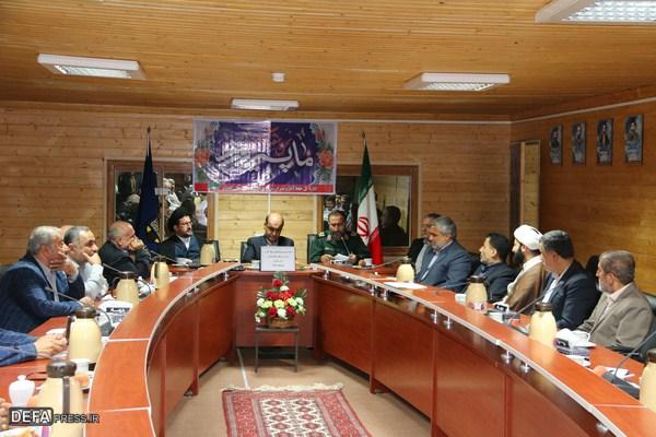 جلسه شورای هماهنگی حفظ آثار و نشر ازشهای دفاع مقدس استان گلستان تشکیل شد