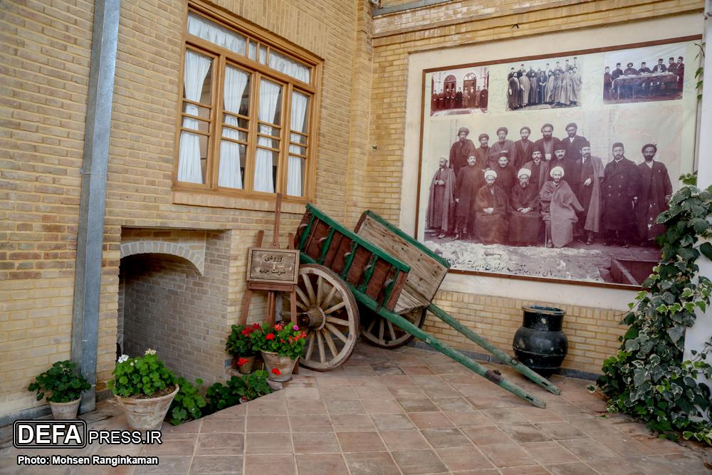 نمایی از تاریخ معاصر ایران در دل خانه یک شهید