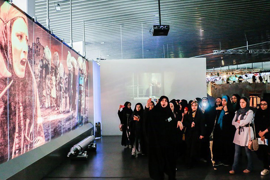 بازدید از موزه انقلاب اسلامی و دفاع مقدس برای زوجهای جوان رایگان است