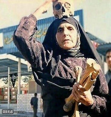 انتشار تصویری تکاندهنده از مادر شهید توسط «پرویز پرستویی» + عکس