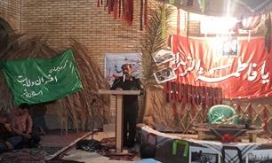 جوانان حاضر در گروه های جهادی سربازان خفته در گهواره رهبر انقلاب هستند