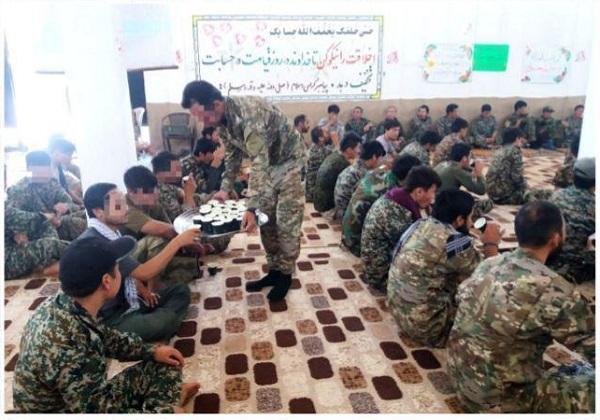 برگزاری جشن عید غدیر در مقر لشکر فاطمیون در سوریه+ تصاویر