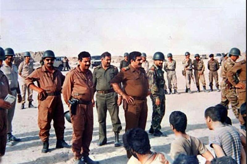افتتاح انفرادی که خودمان ساختیم/ تغییر رفتار افسر عراقی با اسرا