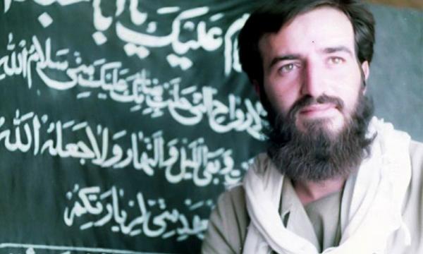 برگزاری مراسم عزاداری تاسوعای حسینی بر سر مزار شهید «محسن دین شعاری»