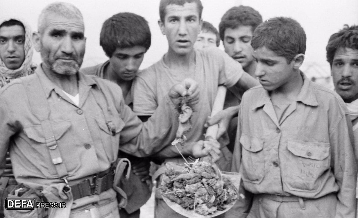 وقتی 150 نفر از رزمندگان هنگام عزاداری ارباً اربا شدند