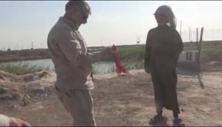 سیل باعث کشف پیکر شهدا در منطقه «شط علی» عراق شد+ فیلم