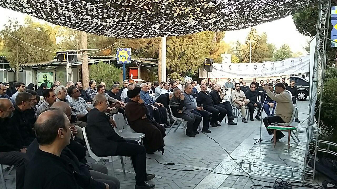 گردهمایی رزمندگان تخریبچی در گلزار شهدا+ عکس