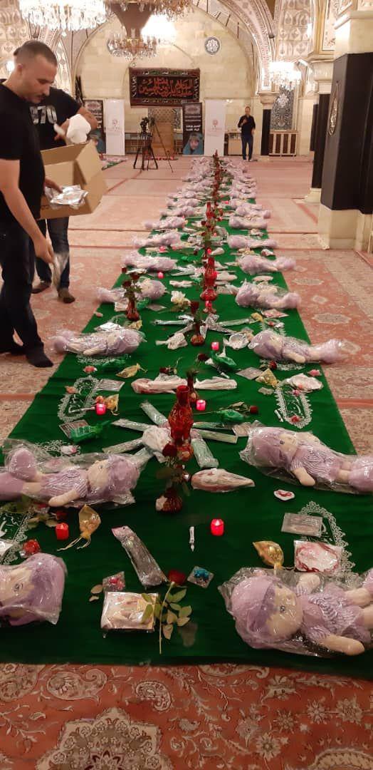 مراسم عزاداری رزمندگان فاطمیون در حرم حضرت رقیه (س)+ فیلم