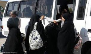 آئین اعزام راهیان نور دانش آموزی به نمایندگی از استان لرستان در بروجرد برگزار شد