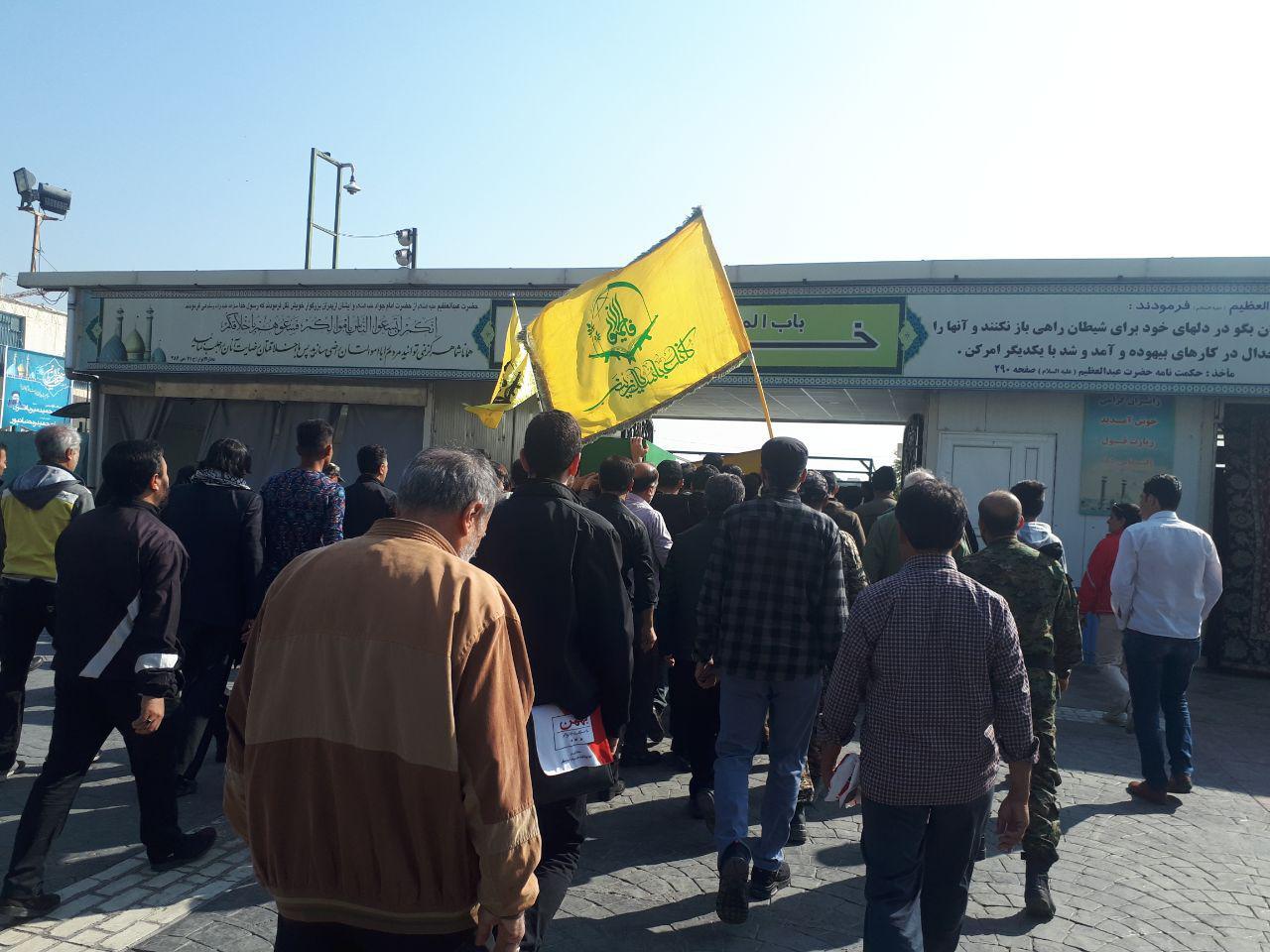 پیکر شهید نائبی پس از ۳ سال از شهادت به خاک سپرده شد