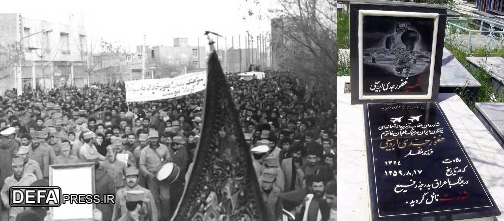 درجههایم را هم نمیخواهم، فقط میخواهم بجنگم/ دوست دارم کفنم پرچم ایران باشد