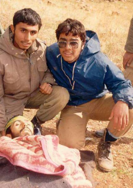 آخرین عکس با شهید تخریبچی روی قلههای سردشت