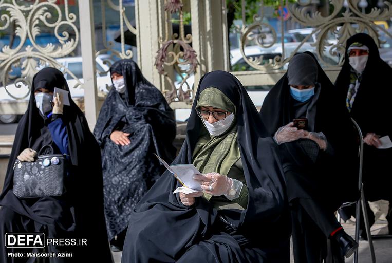سهم «خون» زنان بسیجی در روزهای کرونایی