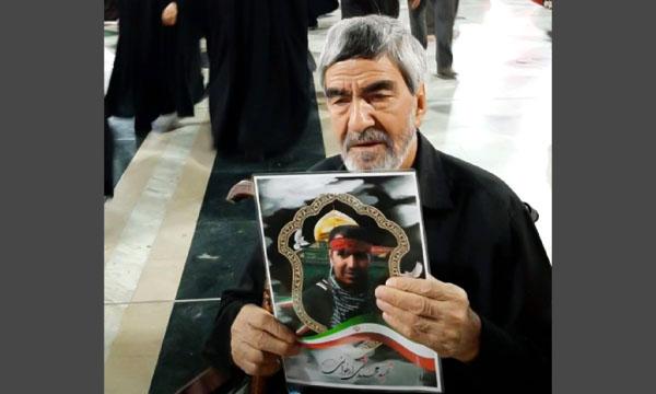 پدر شهید مدافع حرم «محمدتقی ارغوانی» درگذشت