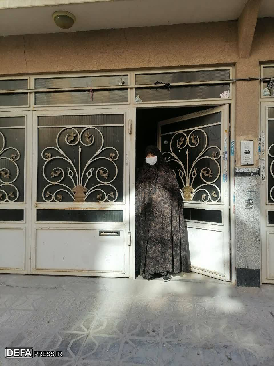 پیچیدن شمیم «بوی پیراهن یوسف» در خانه شهدای مدافع حرم + تصاویر