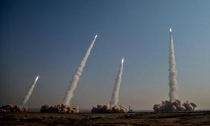 برگزاری مرحله اول رزمایش پیامبر اعظم(ص) ۱۵ سپاه با شلیک انبوه موشکهای بالستیک