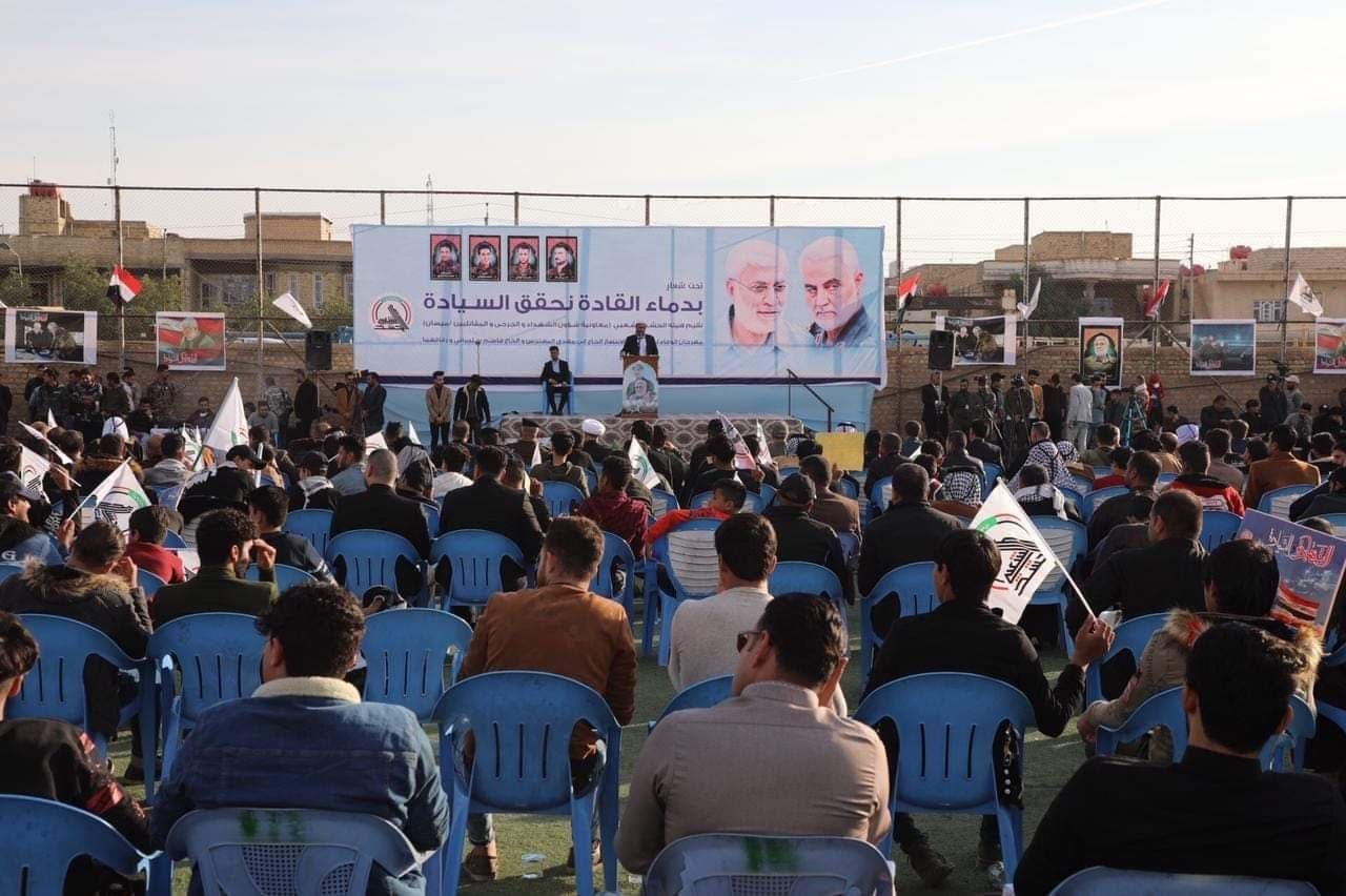 اثبات برادری عراقیها در غم یک فراق