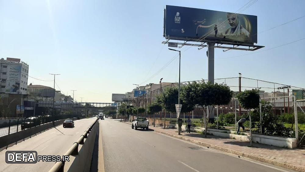 شهر در خواب خرگوشی؛ تصاویر حاج قاسم در فراموشی!