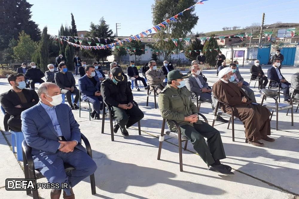 1222847 634 - نواختن «زنگ انقلاب اسلامی» در شهرستان نکا
