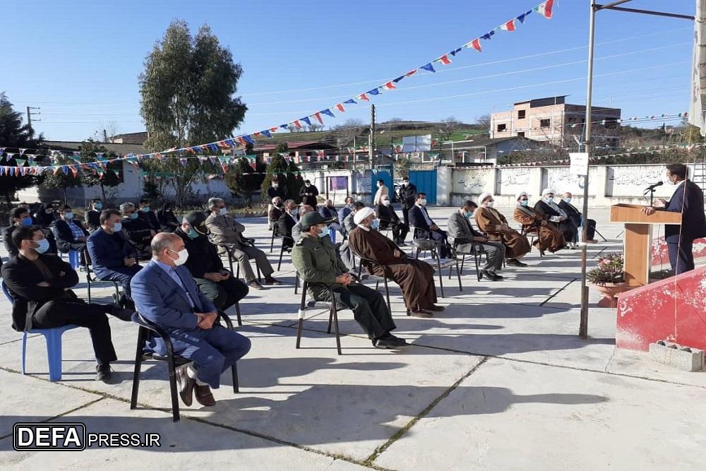 1222848 232 - نواختن «زنگ انقلاب اسلامی» در شهرستان نکا
