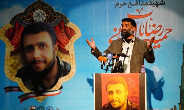 برگزاری مراسم بزرگداشت شهید «حمیدرضا بابالخانی» در سازمان پدافند غیرعامل