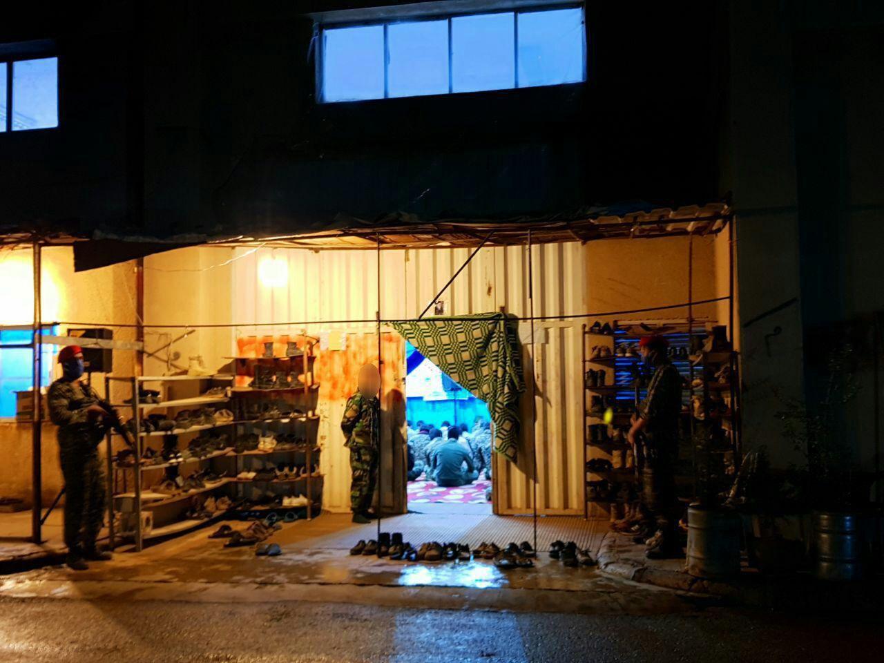 ایستگاه صلواتی رزمندگان «فاطمیون» در سوریه + تصاویر