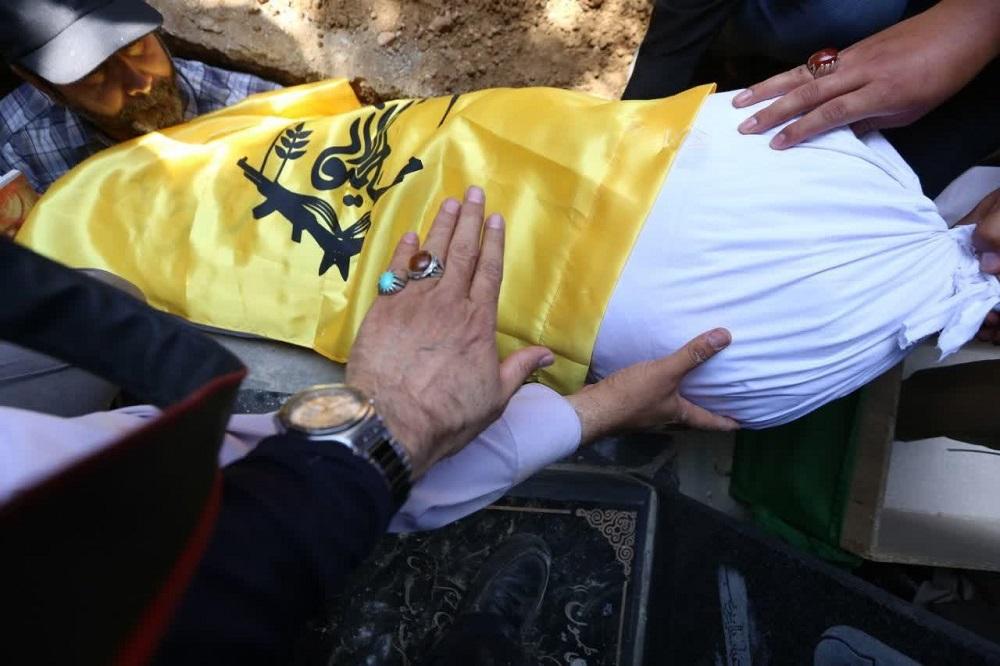روایت خاکسپاری غریبانه سر بیپیکر شهید فاطمیون